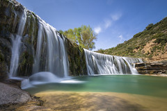 EL MOLINO II ESPEJO (ERREACHE) Tags: saltodelmolino spain agua aragón bierge bigstopper ff guara huesca leesw150 river río water waterfall
