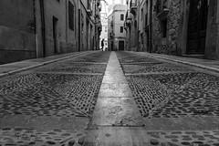 Tarragona street line (borjamuro) Tags: tarragona spain espana españa line linea street calle puntodefuga punto fuga vanishingpoint vanishing point perspectiva perspective streetscape cityscape landscape bn bw photography nikon d7100 urban