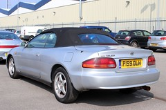 P199 OLH (1) (Nivek.Old.Gold) Tags: 1997 toyota celica gt convertible 1998cc eama abbeytoyota redhill