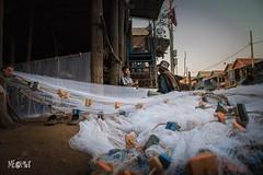 Cambogia - Reti, attrezzi nobili dei pescatori. (iw2ijz) Tags: people persone travel trip viaggio nikon reflex d500 river fiume cambodia cambogia lake lago siem riep tonle sap person reti pesca pescatori fishing fishermen