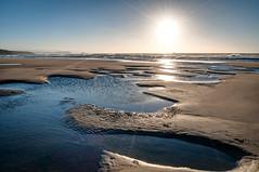 Tarde tranquila (ccc.39) Tags: asturias gozón mar cantábrico playa costa orilla agua arena atardecer sol beach sand water sunset coast sea