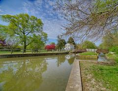 Mid Spring at Lock 8 (kendoman26) Tags: sonyalpha sonyphotographing sonya7mk2 sonya7ii sonyicle7m2 sel1628 sonyvclecu1 imcanal iandmcanal imcanaliandmcanal auxsablelock8 travelillinois enjoyillinois