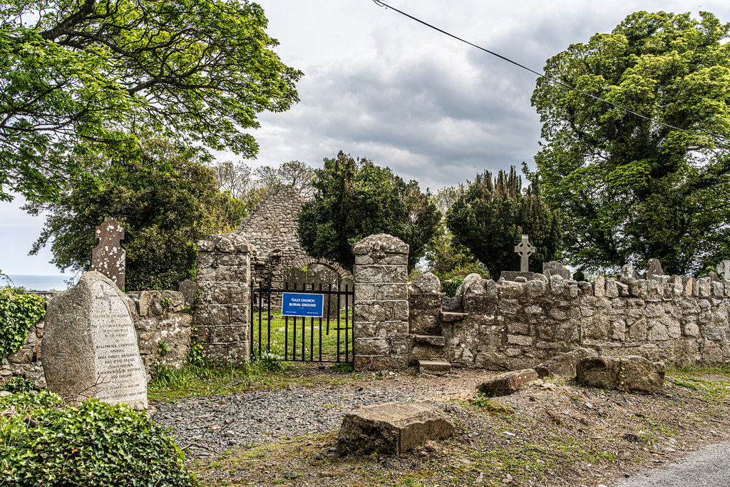 TULLY CHURCH AND CHURCHYARD [LEHAUNSTOWN LANE DUBLIN]-152330