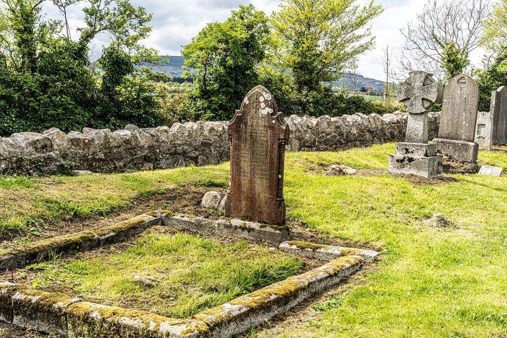 TULLY CHURCH AND CHURCHYARD [LEHAUNSTOWN LANE DUBLIN]-152341