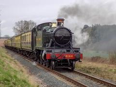 British Railways 4144 (Jason_Hood) Tags: 4144 41xx 262t gwr greatwesternrailway severnvalleyrailway waterworkscrossing hamptonloade everybritishsteamlocomotive