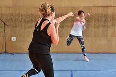 Séance de Fitness boxe féminine (Mairie de Carvin) Tags: weekend avril 2019 sport fitness boxe boxingclub complexesportif