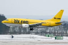 D-AHLF (PlanePixNase) Tags: aircraft airport planespotting haj eddv hannover langenhagen hlx hapaglloyd express boeing 737500 b735