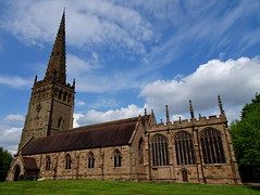 St Peter & St Paul, Coleshill, North Warwickshire. (Vinnyman_One) Tags: st peter paul coleshill north warwickshire c e church of england parish maxstoke grade 1 listed building gb great britian uk united kingdom