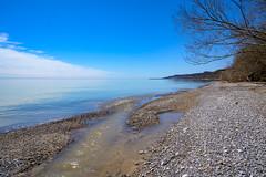 Little Outlet. (dunescape) Tags: toronto lakeontario scarboroughbluffs beach stones creek