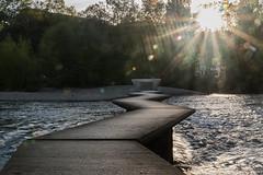 PASARELASPAMPLONA001 (MAVARAS) Tags: pamplona pasarelas arga mavaras agua luz