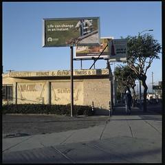 Or not (ADMurr) Tags: la western billboard vacuum full frame mf 6x6 hasselblad 500cm 50mm distagon zeiss kodak ektar dac1982
