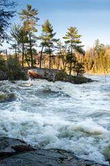 Blakeney Rapids, Mississippi River (mjoshea) Tags: nikond700 zeissdistagon35mmf2 rapids mississippiriverontario