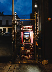 Shady ATM (ep_jhu) Tags: xt3 atm 14thst washington machine teller city cajero automatico dc fujifilm light urban gritty dark fuji dirty districtofcolumbia unitedstatesofamerica
