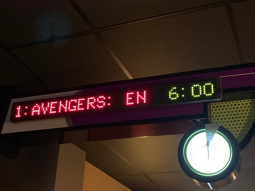 Time to Avenge