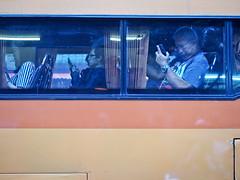 Bangkok Yaowarat Chinatown-3270369 (Neil.Simmons) Tags: bangkok thailand yaowarat chinatown candid streetphotography china town bus coach window stare phone