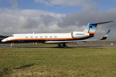 N528AP 12042013 (Tristar1011) Tags: ebbr bru brusselsairport arrowplane gulfstreamaerospace gulfstreamvsp g550 glf5 n528ap