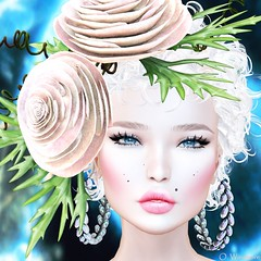 Woman (Ombrebleue Winsmore) Tags: artery blush makeup jumooriginals earrings jewels nomatch hair blond lode head accessory cosmopolitan thechapterfour event maitreya mesh body bento lelutka glamaffair skin applier lumipro photography photograph pic picture spot projector tool