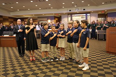 05-06-19_Commission Mtg_Pledge_Everglades (5) (City of Weston) Tags: weston westonflorida schools civiceducation civics education elementary pledgeofallegiance commission florida