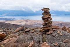 Pile o'stones (Mister Oy) Tags: wester ross scotland skye applecross stones pile balanced balancing fujixpro2 fuji50140mmf28