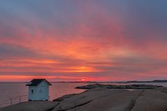 Lysekil's lighthouse (englishgolfer) Tags: sunset sweden west coast västkusten bohuslän lysekil lighthouse fyr nikon d7500 tamron 1750mm