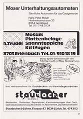 Grasshoppers Zurich vs West Bromwich Albion - 1981 - Page 29 (The Sky Strikers) Tags: grasshoppers zurich west bromwich albion wba brom sportplatz hardtum uefa cup programme fr 1