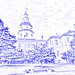 Maryland State House (drawing filter)