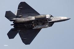 171105_027_JaxAS_F22 (AgentADQ) Tags: lockheed f22 raptor jacksonville nas air show airshow stealth fighter plane jet airplane military aviation