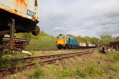 Colliery Working (Treflyn) Tags: brcw br british rail blue class 33 crompton 331 33102 sophie sidings foxfield railway colliery train mineral wagon emrps east midlands photographic society photo charter