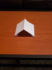 180 degrees of internal angles (awebb0918) Tags: paper triangle art shape folded intact