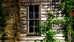"""The old """"hippies house"""" (Hayseed52) Tags: abandoned window stonechimney house aged weathered virginia"""
