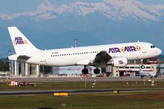 Air Cairo Airbus A320-200 SU-BSM | Milano - Malpensa (MXP-LIMC) | 1st May 2019 (Brando Magnani) Tags: airbus aircairo landing airbusa320 aviation airplane aircraft malpensa