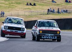 Ford Escorts (dicktay2000) Tags: canonef100400mmf4556lisusm musclecarmasters sydneymotorsportpark ©richardtaylor 40d australia sydney 20120901img9731