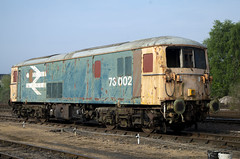 73002 (David Blandford photography) Tags: 73003 br livery eastleigh east yard