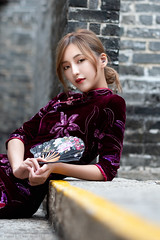 White (Francis.Ho) Tags: white cheongsam chipao qipao chineseculture xt2 fujifilm girl woman female femme lady portrait people beauty pretty lips eyes hair face elegant glamour young sensuality fashion naturallight chinese daylight