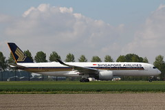 9V-SMP Airbus A350-941 Singapore Airlines (FokkerAMS) Tags: airbusa350 singaporeairlines 9vsmp