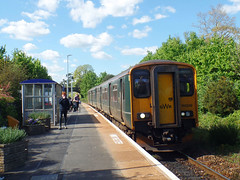 150246 Lympstone Village (1) (Marky7890) Tags: gwr 150246 class150 sprinter 2f37 lympstonevillage railway devon avocetline train