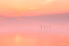 Catching Peach! (karindebruin) Tags: jos nd06hardgrad rockanje thenetherlands visnetten voorneputtenwestvoorne zonsondergang zuidholland beach fishingnets sand sea strand sunset zand zee