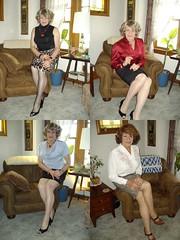 Executive Suite, Or Executive Sweetie (Laurette Victoria) Tags: secretary laurette woman skirt businesswoman