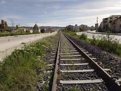 Trenyolu (Railway) (stefennif) Tags: burdur railway train station dörtayak türbesi türbe dörtayaktürbesi dört ayak trenyolu trenistasyonu istasyon tren demiryolu tcdd
