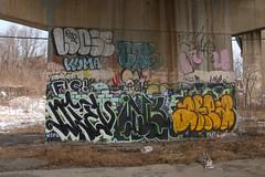 Dieu, Inkr, Area, Loose, Kuma, Cas142 (NJphotograffer) Tags: graffiti graff new jersey nj dieu inkr82 inkr 82 area loose r2b crew kuma cas142 cas 142 casino