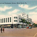 Woolworth and Liggetts Rexall Lincoln Road Miami Beach Vintage Postcard