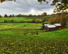 Jenne Farm (Chad Straw Images) Tags: vermont newengland fall autumn travel photography nikon nikond610farm rural country countryside landscapes landscape colors green clouds cloudy sky sunrays landscapephotography