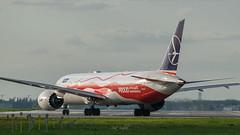DSC_0150 (piotrkalba) Tags: boeing 787 dreamliner splsc warszawa warsaw spotting plane nikon