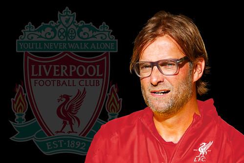 Jürgen Klopp in Liverpool