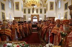 162. Божественная литургия в Успенском соборе 01.05.2019