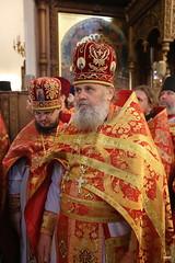 156. Божественная литургия в Успенском соборе 01.05.2019
