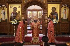 073. Божественная литургия в Успенском соборе 01.05.2019