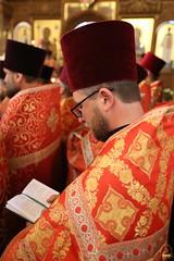 033. Божественная литургия в Успенском соборе 01.05.2019