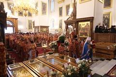 024. Божественная литургия в Успенском соборе 01.05.2019