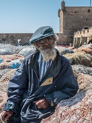 Essaouira, old man (NightFlightToVenus) Tags: